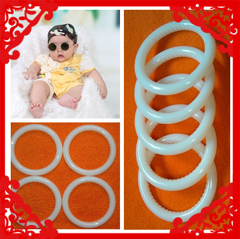 Best quality nylon baby sling ring with tooth