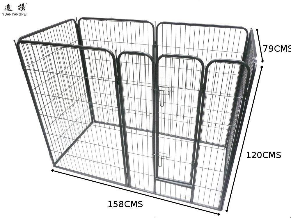 Kennel Aire Playpen Cats Large Heavy Duty Cage Pet Dog Cat Barrier Fence Metal Playpen Kennel