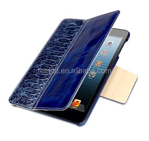 OEM Premium Leather Case for Apple iPad mini with Retina display -- Bellac (Hercules : Blueberry/Blue SK)