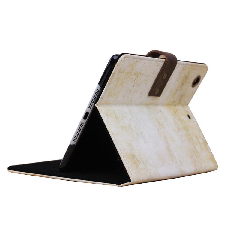 Vintage Scale Retro Design Leather Smart stand Holder Cover Case for Ipad mini 2