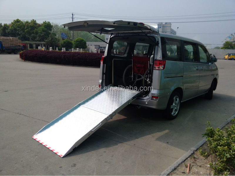 BMWR-2 Wheelchair Ramp For Van and Minivan