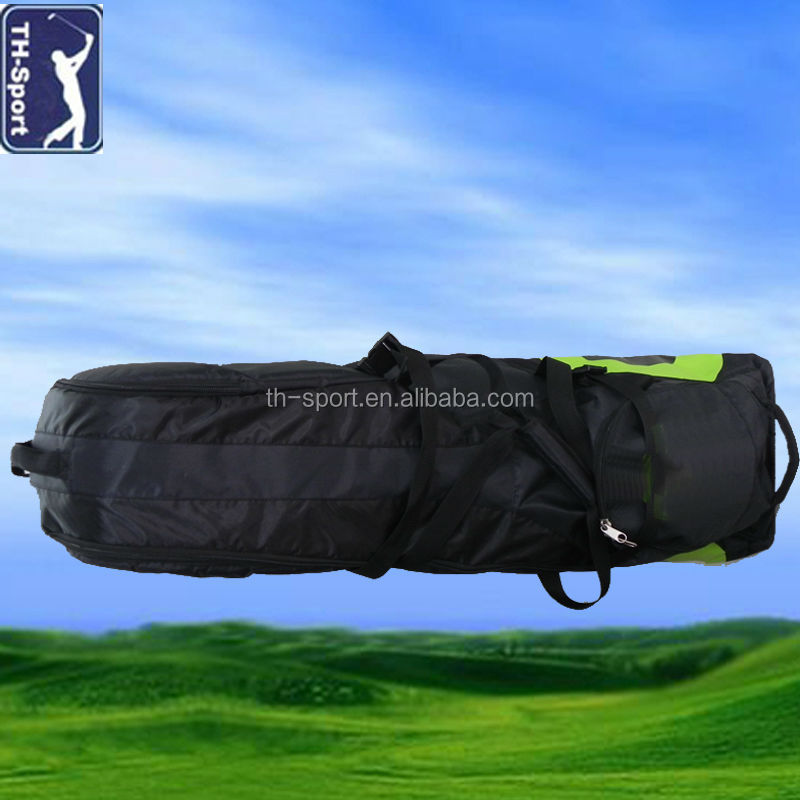 Flight Golf Bag Travel Cover with Wheels