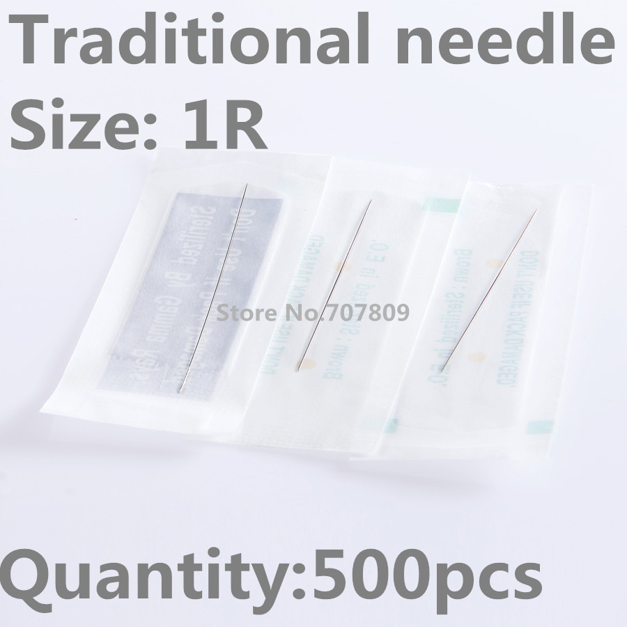 500pcs New Tattooing Makeup Needles 1rl Sterilized Disposable A C Compressor Wiring Diagram 1972 Cylcone Mercy Eyebrow And Tattoo Free Shipping Us926