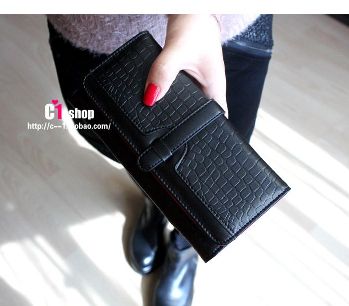 2014 הגעה לניו נשים ארנקים, אופנה רטרו זמן הסגנון של נשים דרו-מחרוזת הארנק משלוח חינם