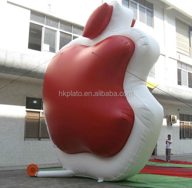 Custom giant advertising inflatable apple