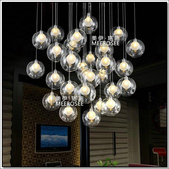 Nouveau style lampes verre lighting luminaire suspendu for Home depot luminaire suspendu interieur