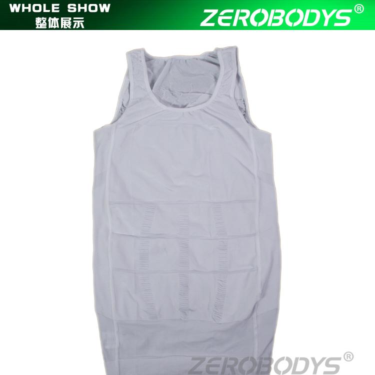 107WH ZEROBODYS Incroyable Hommes Corps Minceur Shapewear