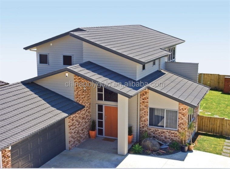 Stone Coated Step Tile Roofing Sheet Buy Colorful Stone