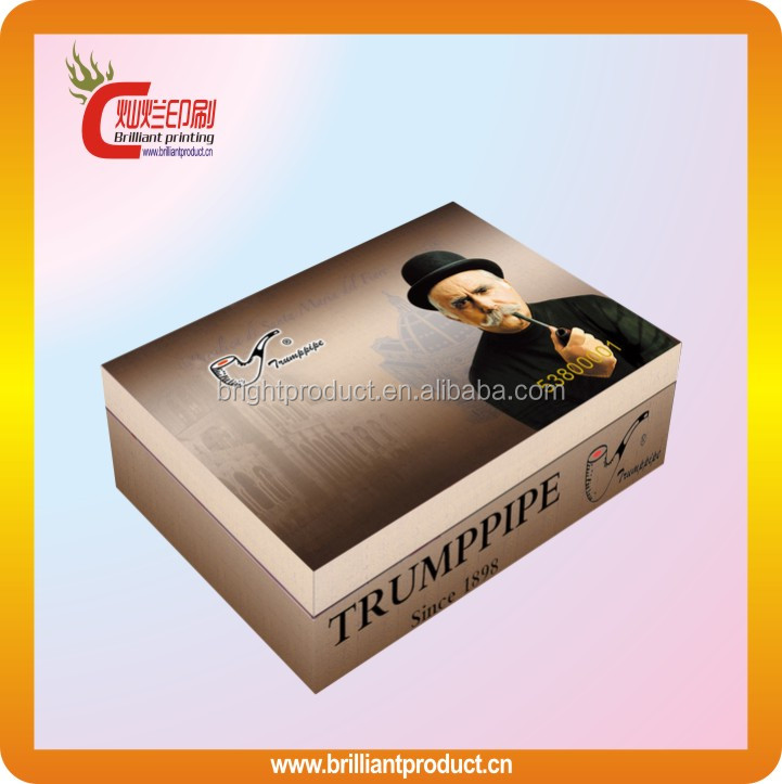 2014 New China Alibaba pipe box cardboard wholesale pipe packaging box with full color printing