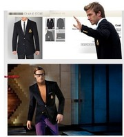 Мужской пиджак Men's cashmere coat suits , honghui D8666