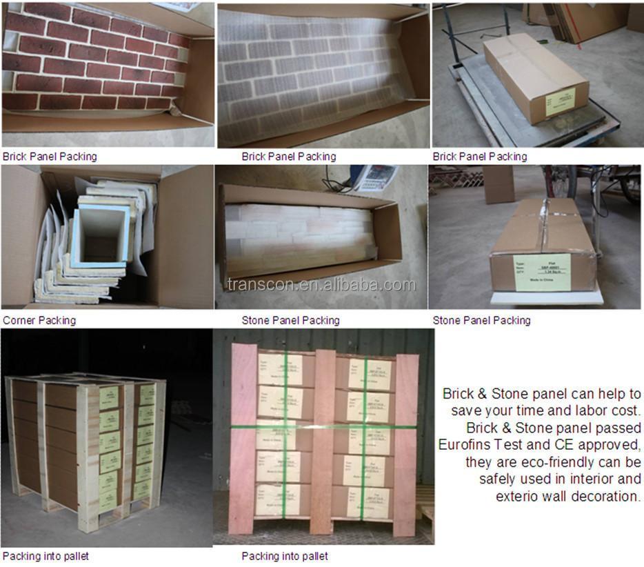 faux brick panels exterior images