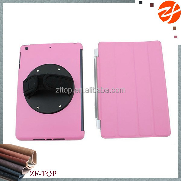 rotating stand case for ipad air best leather plastic cover with screw