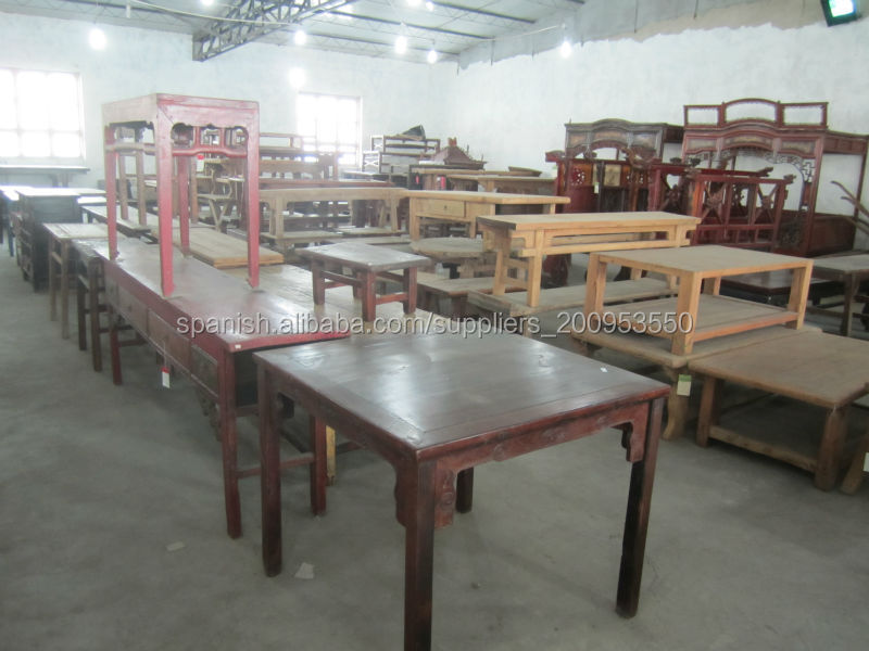 Reciclar mesa de comedor muebles antiguos chinos-Mesas de madera ...