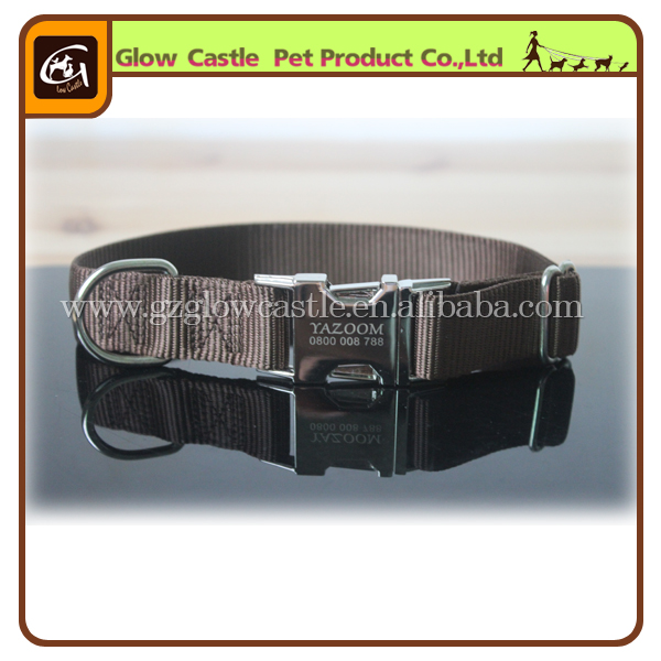 2014 NEW Metal Engraved Personalized Dog Collar (3).jpg