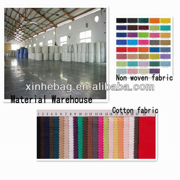 Polyester foldable bag pattern with Snap Pouch