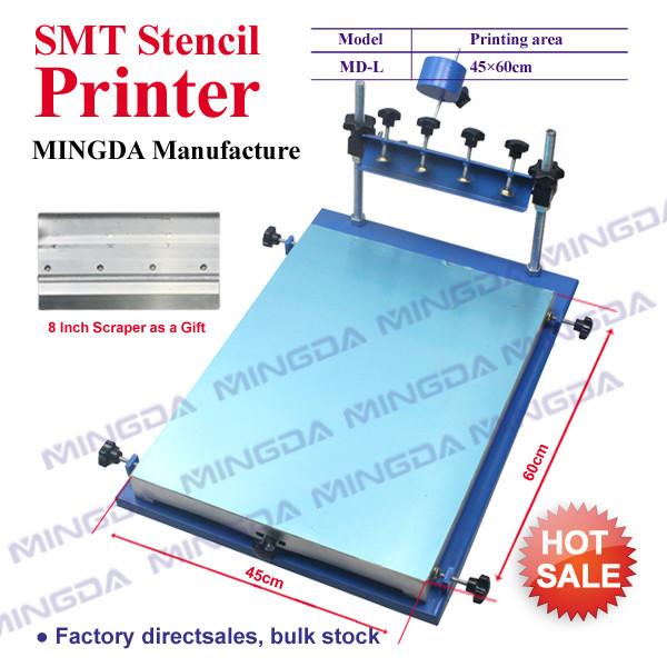 высокое качество! SMT трафарет принтеры, припой паста принтер, трафарет принтер 45x60cm шелка трафаретный принтер