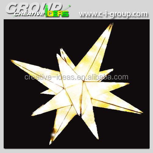 New Star Lantern Holiday Decoration Christmas Shopping Mall