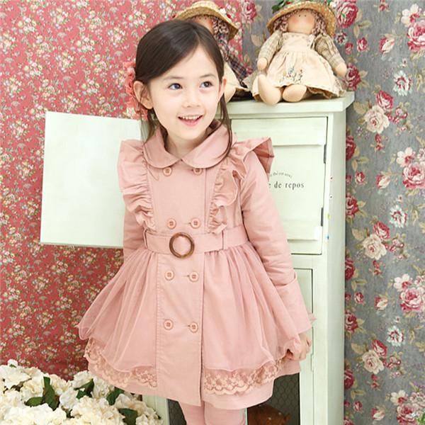 Пальто на девочку своими руками