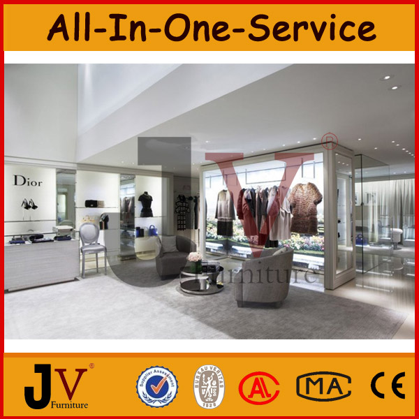 High end menswear retail clothing store furniture shop for High end furniture shops