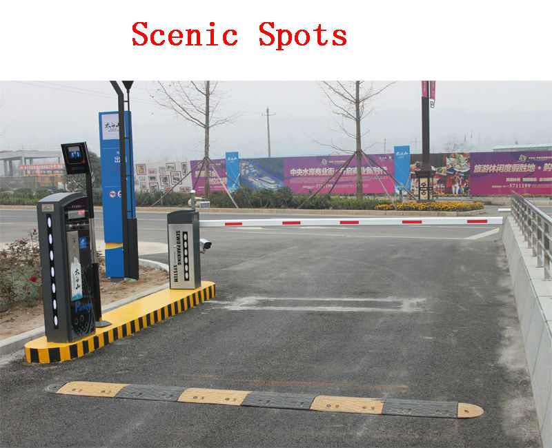 Automatic parking boom barrier gate manufacturer oem