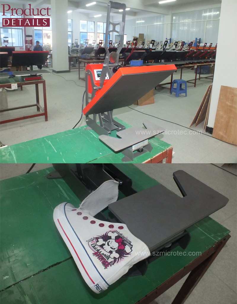 Microtec Patent Shoe Heat Press, Shoe Sublimation Machine