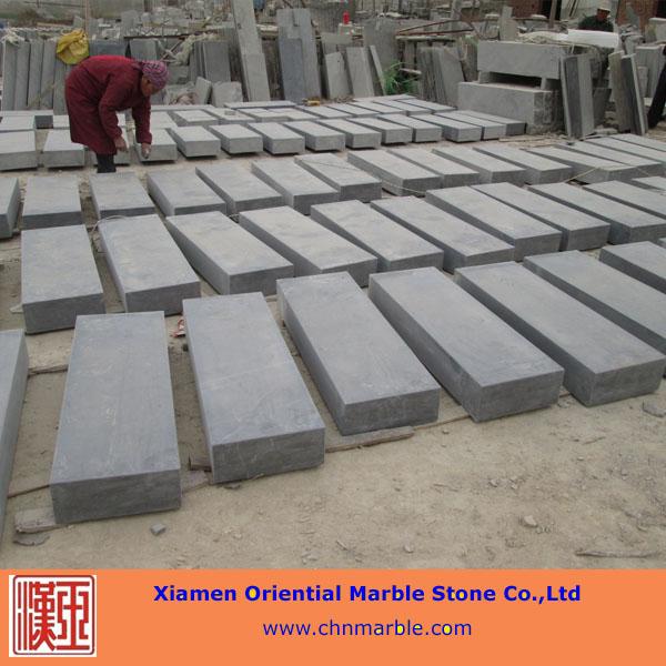 honed blue limestone