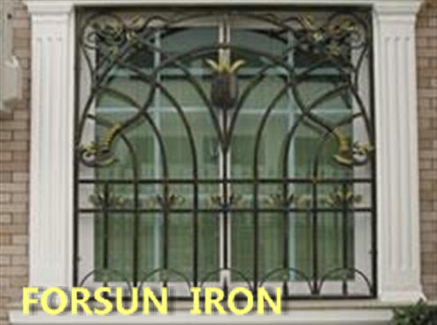 Simple iron windows grills design modern house sliding window view - Modern window grills design ...