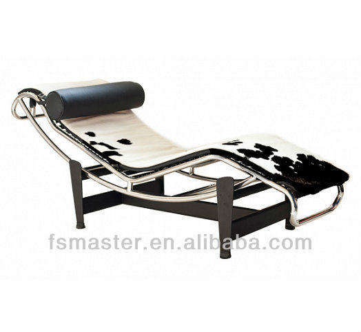 détente matelas pour peau de vache chaise longue lc4-chaise longue ... - Chaise Longue Le Corbusier Vache