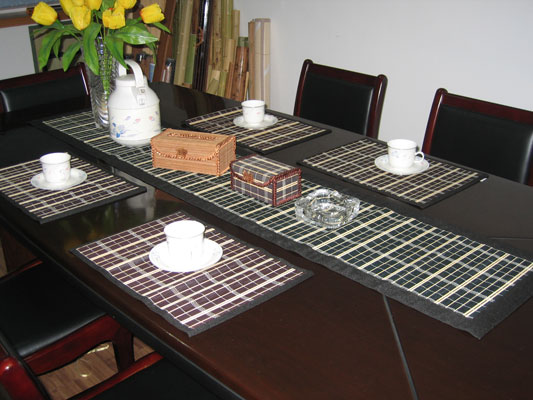 Paper Bamboo Placemats Decorative Paper Placemats