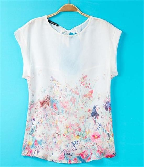 Женская футболка D503N5 t o