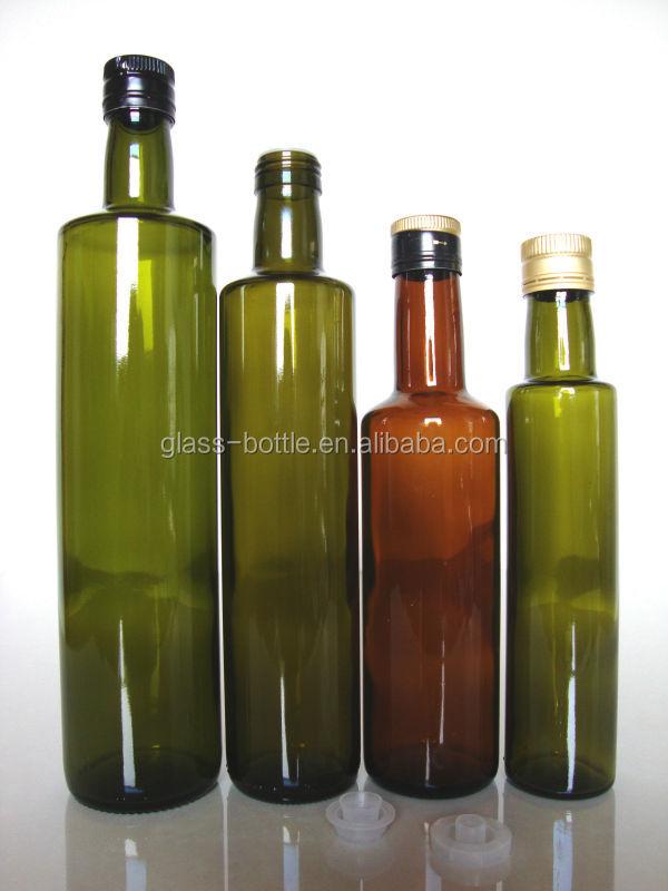 olive oil glass bottles