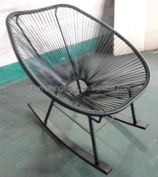Steel PE Acapulco Rocking Chair Steel PE Acapulco Rocking Chair
