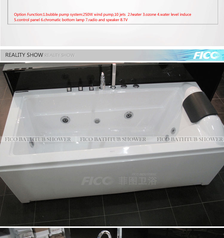 2014 Fico hot model freestanding mini bathtub