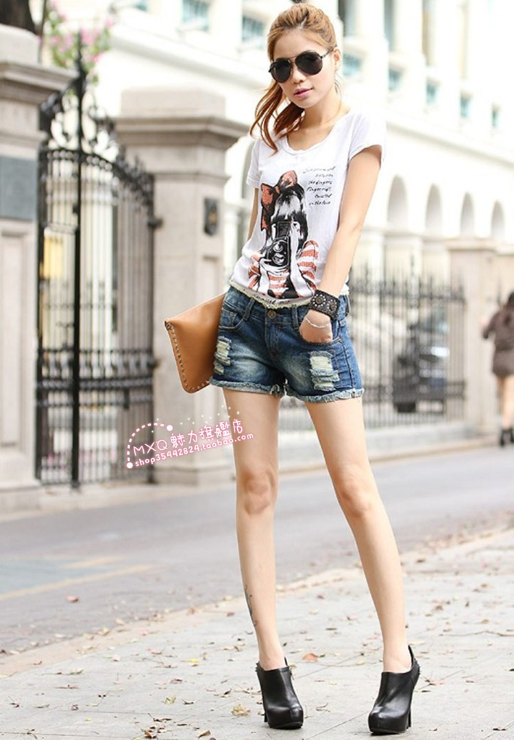 Женские шорты Slim 9516