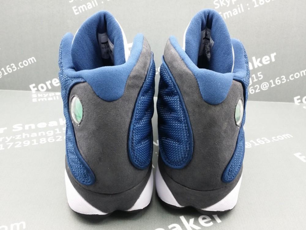 белый синий 13s мужской баскетбол обувь 414571-401 414571 401