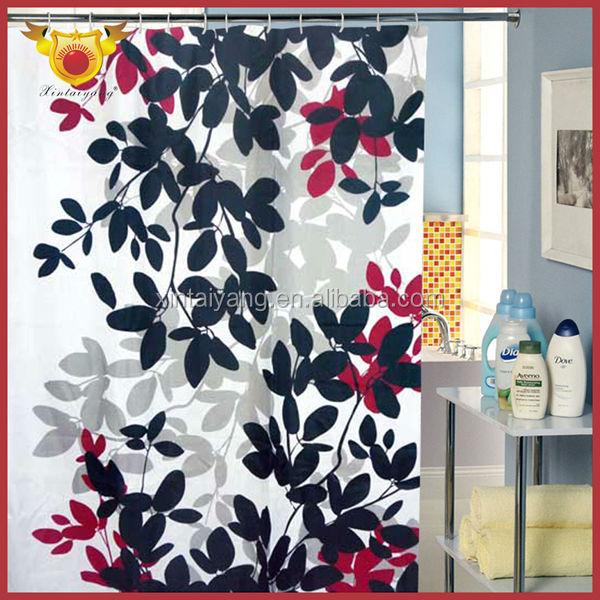 Diseño de la pintura poliester walmart cortinas baño ducha ...