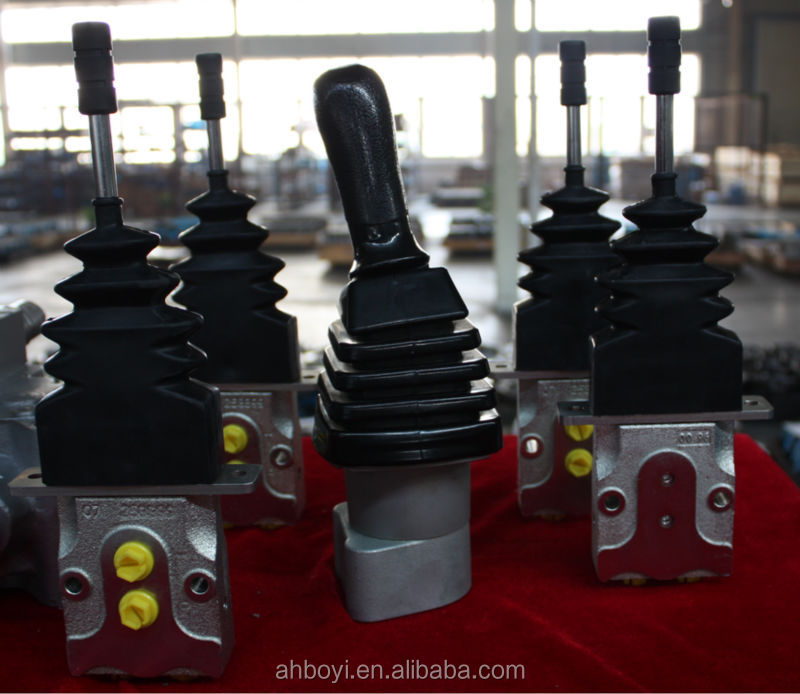Case Hydraulic Joystick Controls : Way joystick excavator hydraulic control valve buy