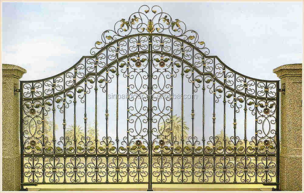 Front Home Gate Design. Steel Gatemetal Gategate For Front Metal ...