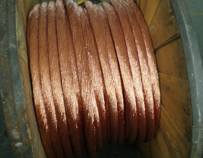 round flexible electric stranded tinned copper conductor
