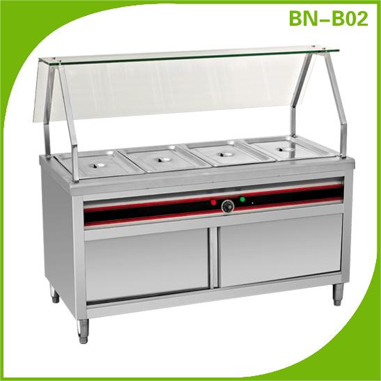 Restaurant Commercial Gas Food Warmer/Bain Marie BN600-G607