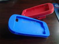 1pcs/lot девушки любимый милый мультфильм прекрасные синие и белые тапочки мягкий силиконовый чехол для iphone 5 5 g 5s