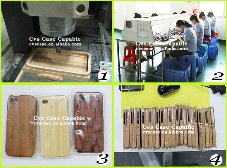Mobile Accessory Wood For iPhone 6 Case Made by China Manufacturer