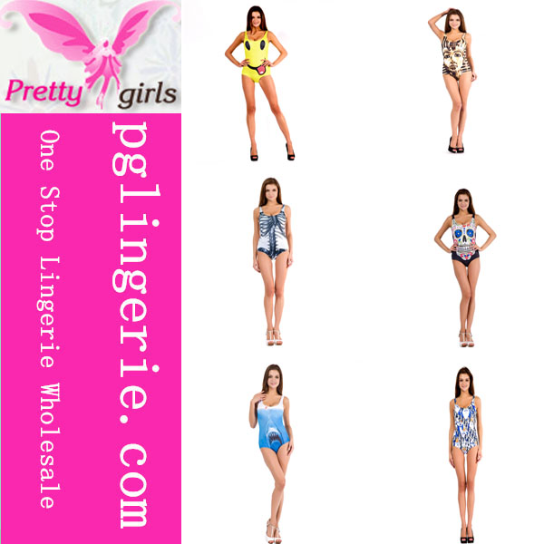 2014 new style one piece swimwear
