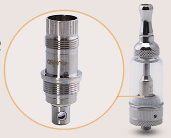 Airflow adjustable Clearomizer Nautilus aspire