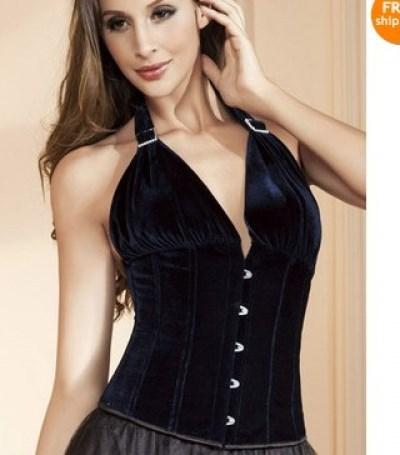 Free shipping Ladies Elegant Corset 2014 Women lingerie Sexy underwear pink corset+ cheaper price
