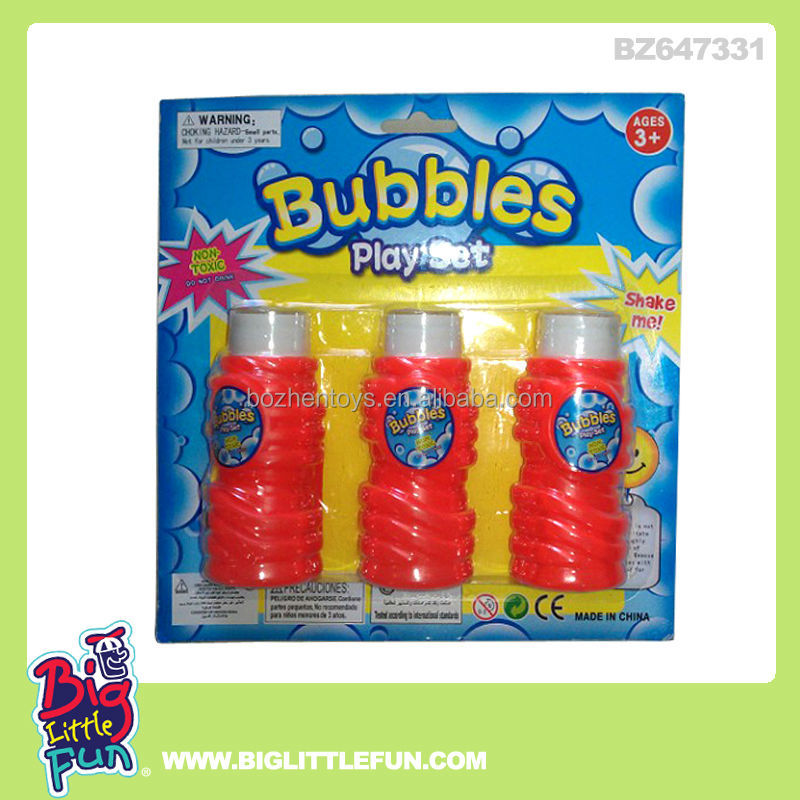 Blow Plastic Bubbles Plastic Bubble Ring Toy