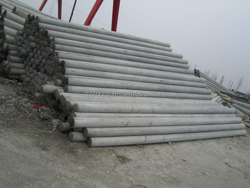 Precast Concrete Pole : Prestressed spun concrete pole making machine buy