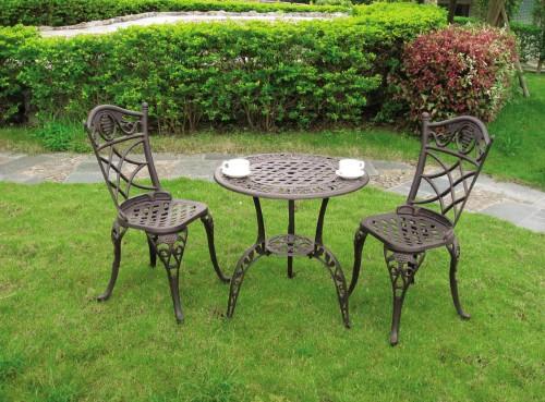 Mesas de jardin de hierro dise os arquitect nicos for Mesas y sillas de jardin de aluminio