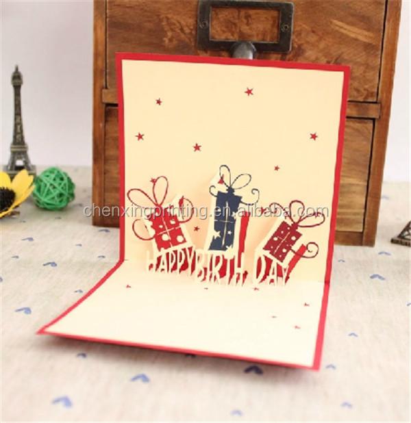 diy hecho a mano d arbol de navidad tarjetas de papel plegado