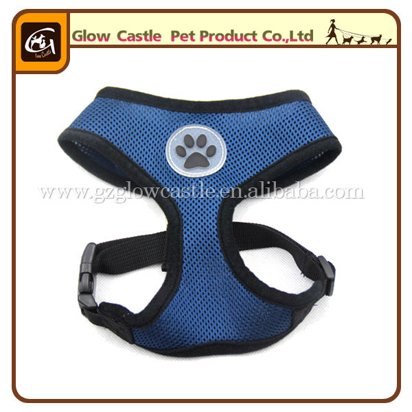 Glow Castle Fashion Paw Design Dog Harness With Soft Breathable Airmesh (6).jpg